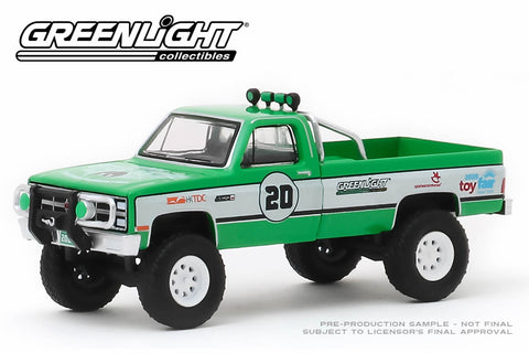 1981 GMC K-2500 - #20 GreenLight Stuntman Association - 2020 GreenLight Trade Show Exclusive