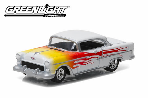 1955 Chevy Bel Air with Flames
