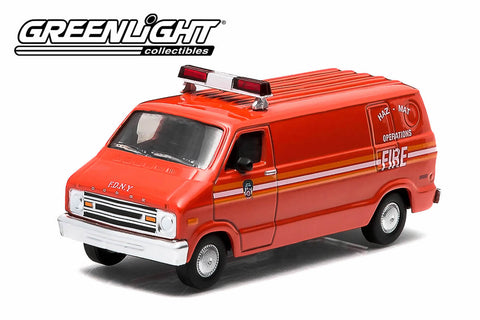 1976 Dodge B-100 Van - FDNY Haz-Mat Operations