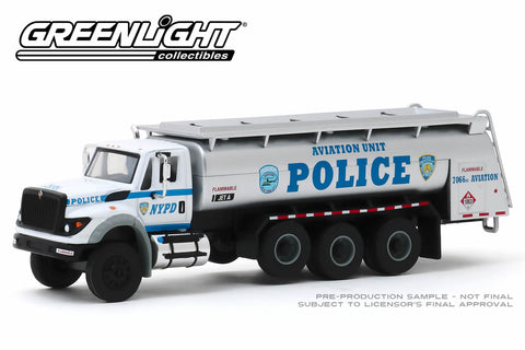 2018 International WorkStar Tanker Truck - New York City Police Dept (NYPD) Aviation Unit