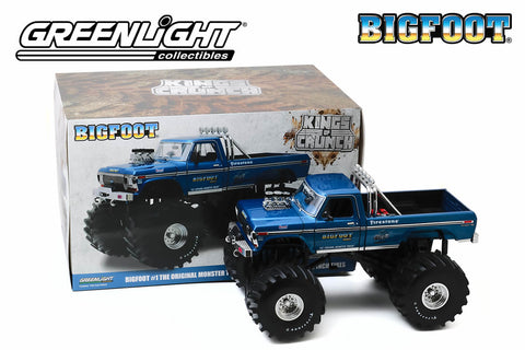 1:18 Kings of Crunch Bigfoot #1 / 1974 Ford F-250 Monster Truck with 66-Inch Tires