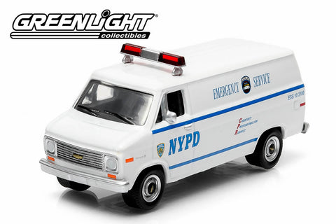 1977 Chevy G20 Van - NYPD Emergency Service