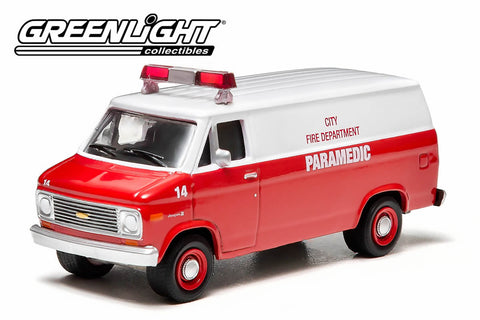 1977 Chevy G20 Van - City Fire Department Paramedic