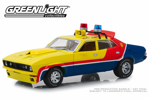 1:18 Mad Max / 1973 Ford Falcon XB Interceptor Police