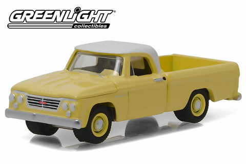 1962 Dodge D-100 - Sunset Yellow