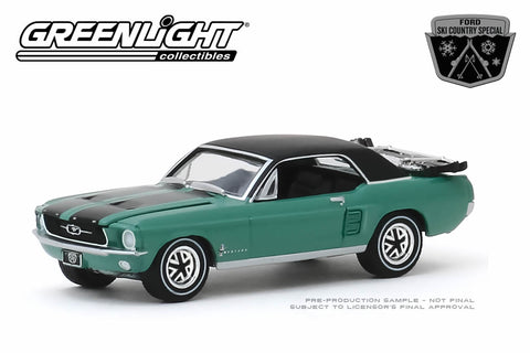 "1967 Ford Mustang Coupe ""Ski Country Special"" - Loveland Green"