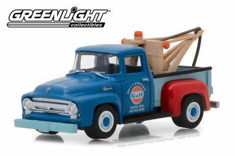 1956 Ford F-100 Tow Truck / Mel's Garage Gulf Oil