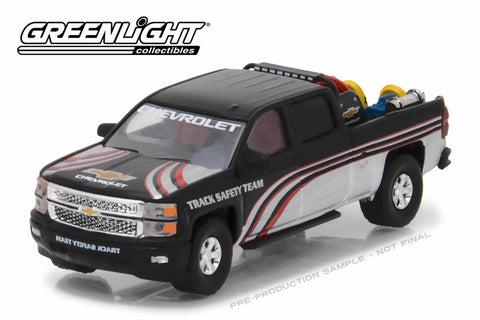 2015 Chevy Silverado in Black with Safety Equipment in Truck Bed