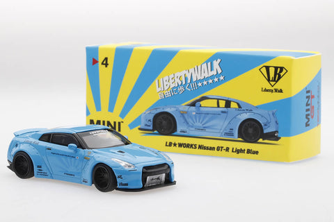 Liberty Walk Nissan GT-R R35 (LHD / UK Release)