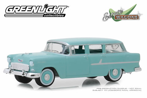 1955 Chevrolet Two-Ten Townsman (Sea Mist Green)
