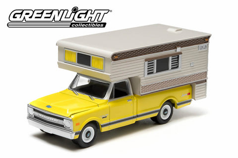 1970 Chevrolet C-10 with Large Camper