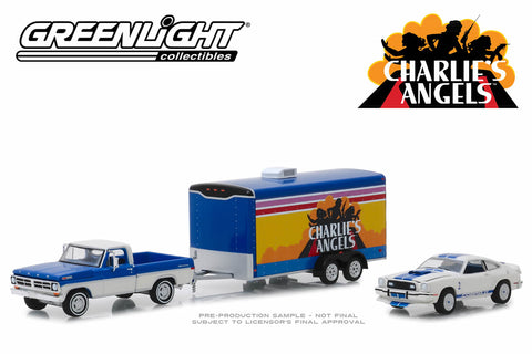 Charlie's Angels - 1972 Ford F-100 / 1976 Ford Mustang II Cobra II / Enclosed Car Hauler