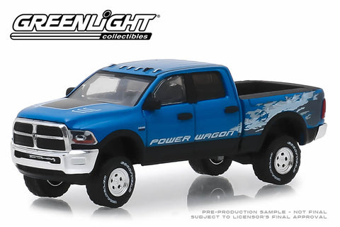 2016 Ram 2500 Power Wagon - Blue Streak Pearlcoat