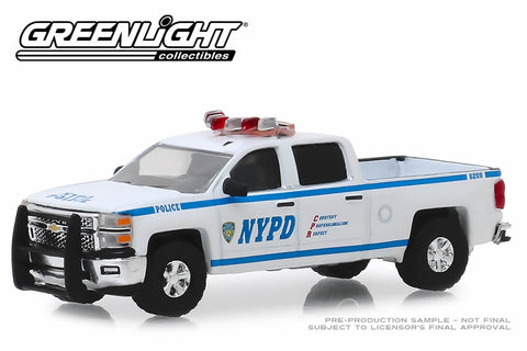 2015 Chevrolet Silverado - New York City Police Dept (NYPD)