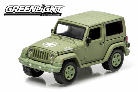 2014 Jeep Wrangler - U.S. Army (Hard Top, Light Green)
