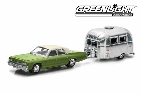 1974 Dodge Monaco and Airstream 16' Bambi