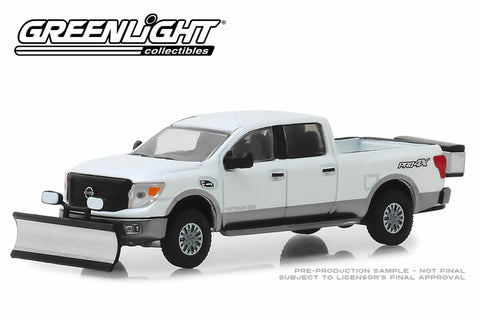 2018 Nissan Titan XD Pro-4X with Snow Plow and Salt Spreader