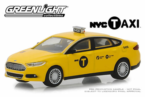 2013 Ford Fusion NYC Taxi