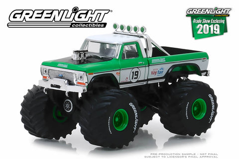 1974 Ford F-250 Monster Truck - #19 GreenLight Racing Team