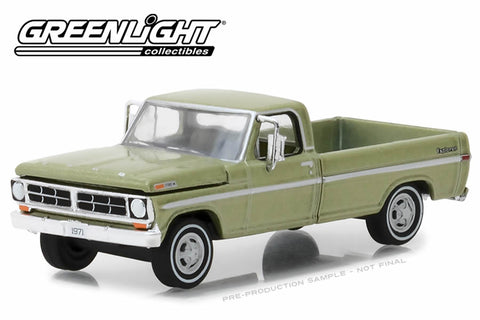 1971 F-100 Explorer Special (Long Bed) - Lime Gold Metallic