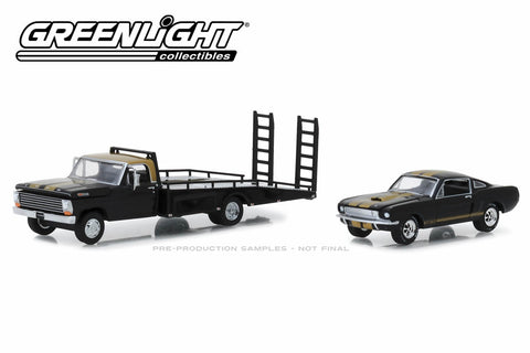 1968 Ford F-350 Ramp Truck with 1966 Shelby Mustang GT350H