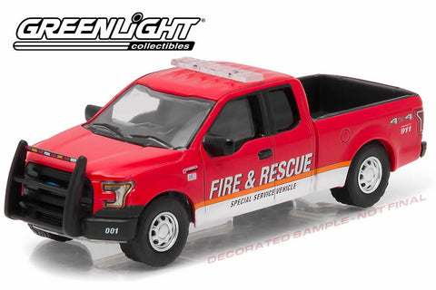 2015 Ford F-150 Fire & Rescue Special Service Vehicle