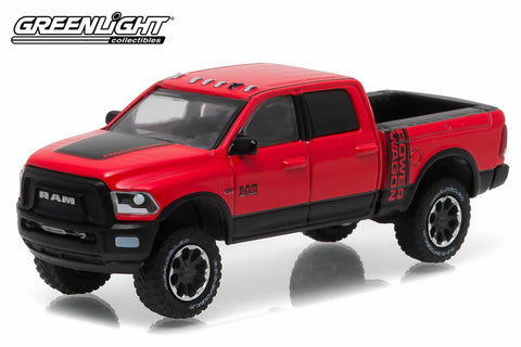 2017 Ram 2500 Power Wagon - Flame Red with Black