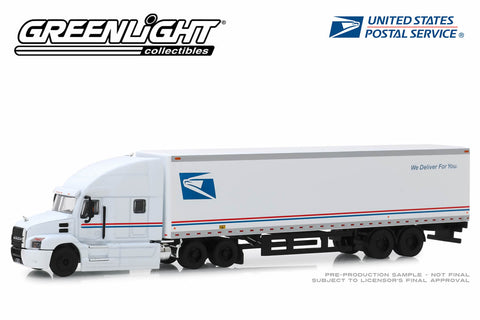 "2019 Mack Anthem 18 Wheeler Tractor-Trailer - United States Postal Service (USPS) ""We Deliver For You"""