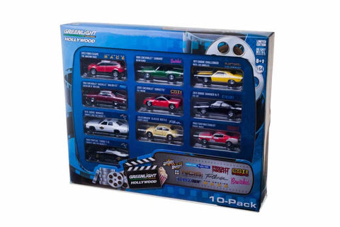 Hollywood 10-Car Collector Case