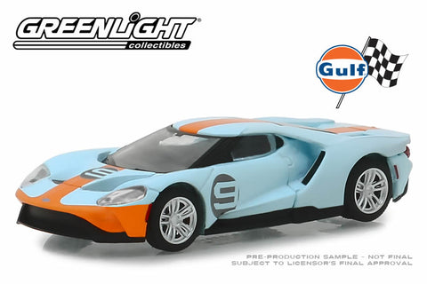 2019 Ford GT - Ford GT Heritage Edition - #9 Gulf Racing