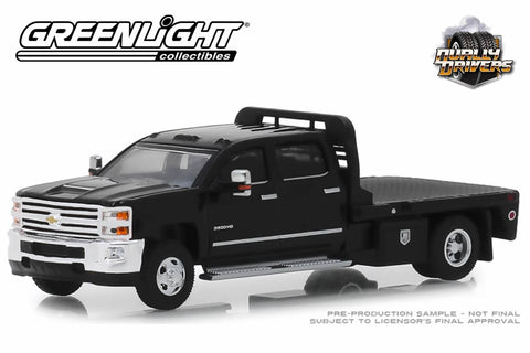 2018 Chevrolet Silverado 3500 Dually Flatbed (Black)