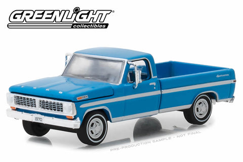 1970 F-100 Explorer Special (Long Bed) - Grabber Blue