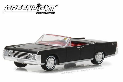 1965 Lincoln Continental Convertible - Black (Indianapolis 2016)