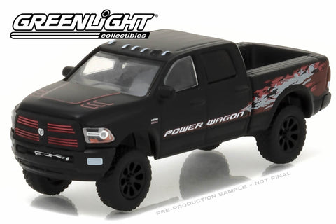 2016 Ram 2500 Power Wagon - Matte Black