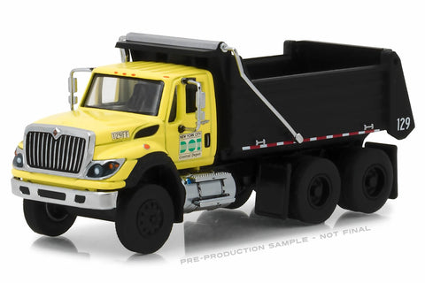 2017 International WorkStar Dump Truck - New York City DOT