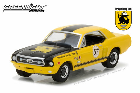 Ford Terlingua Continuation Mustang #67 Jerry Titus & Ken Miles - Racing Tribute Edition