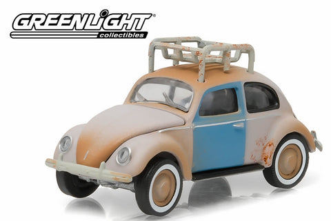1949 Volkswagen Type 1 Split Window Beetle - Primer Gray with Roof Rack and Patina