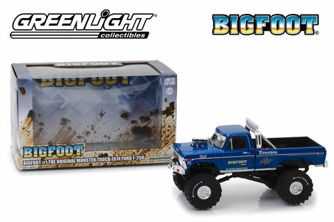 1:43 Bigfoot #1 The Original Monster Truck / 1974 Ford F-250 Monster Truck