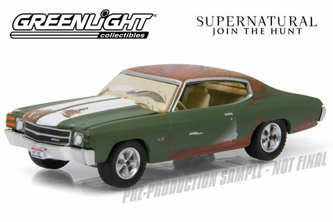 Supernatural (2005-Current TV Series) – Bobby's 1971 Chevy Chevelle