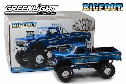 1:18 Kings of Crunch Bigfoot #1 / 1974 Ford F-250 Monster Truck with 48-Inch Tires