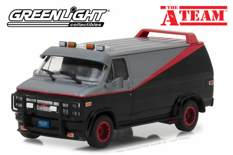 1:43 The A-Team / 1983 GMC Vandura