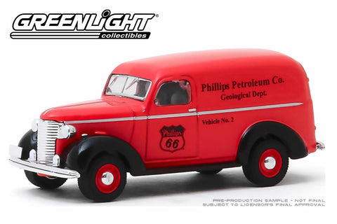 1939 Chevrolet Panel Truck / Phillips 66 Phillips Petroleum Co. Geological Dept.