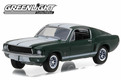 1967 Ford Mustang - Green with White Stripes