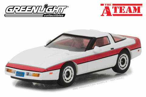 1:43 The A-Team / 1984 Chevrolet Corvette C4