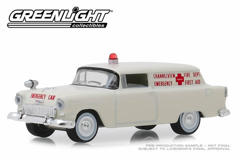 1955 Chevrolet Sedan Delivery - Channelview, Texas Fire Department Volunteer Emergency Car