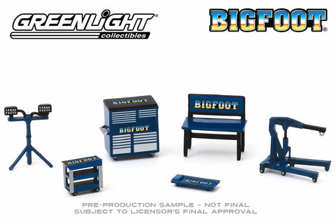 Shop Tools - Bigfoot Monster Truck