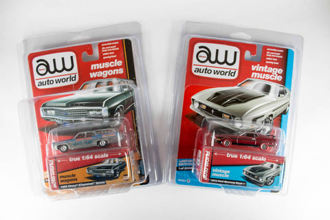 Auto World Blister Protector 6-Pack