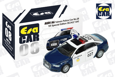 Audi A6 Taiwan Police Car No. 28 1st Special Edition