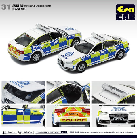 Audi A6 UK Police Car (Scotland)
