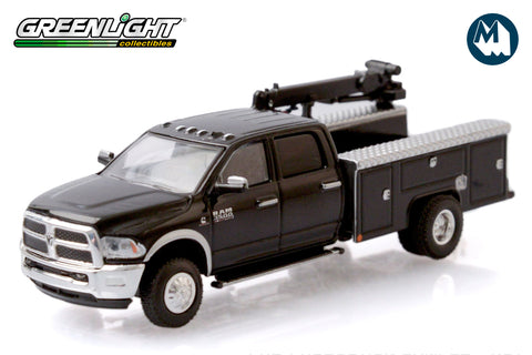 2018 Ram 3500 Dually Crane Truck - Brilliant Black